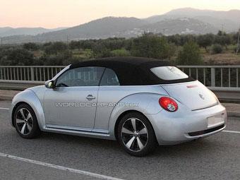 VW приступил к тестам нового Beetle без крыши