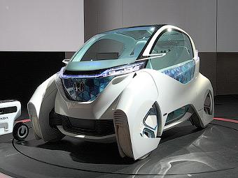 Компания Honda представила концептуальный городскорй компакт-кар