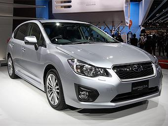 Новые Subaru Impreza появятся в России к весне