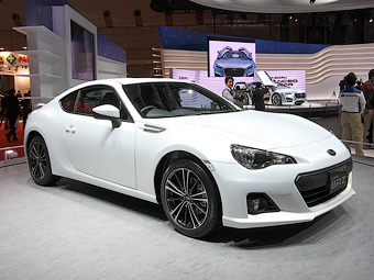 Россияне смогут купить заднеприводное купе Subaru в 2012 году