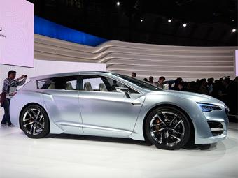 Гибридный спорт-универсал Subaru намекнул на Legacy нового поколения