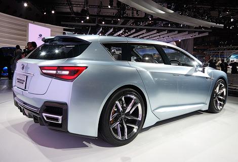 На Токийском автосалоне состоялась премьера концепт-кара Subaru Advanced Tourer