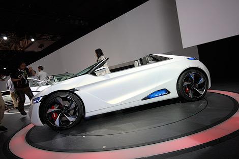 "Дизайн будущих ""Хонд"" показали на концепт-каре EV-Ster. Фото 1"