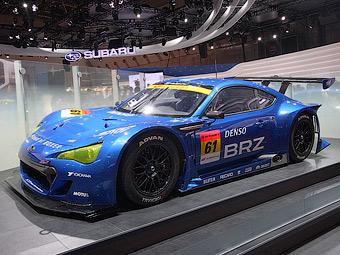 Купе Subaru BRZ поедет в гонках