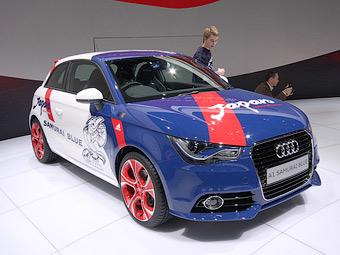 Audi посвятила японской сборной по футболу спецверсию трехдверки A1