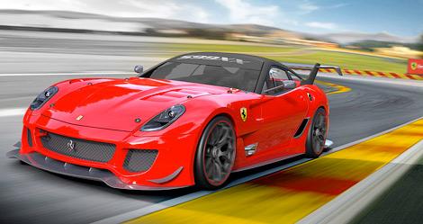 Купе Ferrari 599XX Evolution получило 750-сильный мотор и заднее антикрыло от болидов Формулы-1