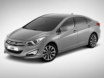 Седан Hyundai i40 появится в России в 2012 году