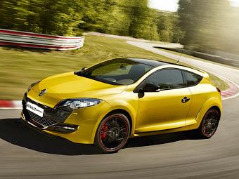 Продажи Renault Megane RS в России начнутся весной 2012 года