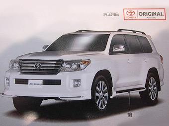 Toyota Land Cruiser готовится к обновлению