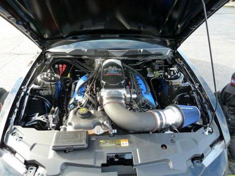 Купе для гонок по прямой получил более легкий кузов и модернизированную техническую начинку