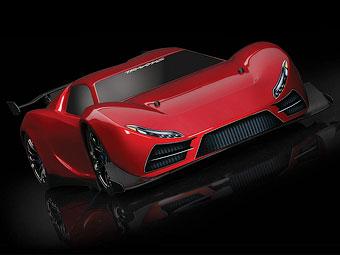 Представлен самый быстрый в мире игрушечный суперкар