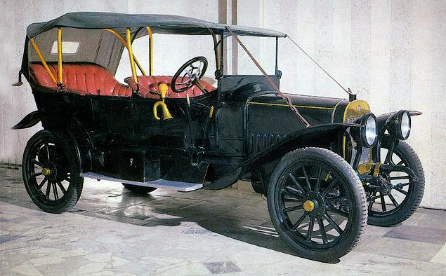 В 1909 году в Риге на Русско-Балтийском вагонном заводе создали современный цех для производства автомобилей