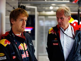 Команда Red Bull запретила Феттелю гоняться на мотоцикле