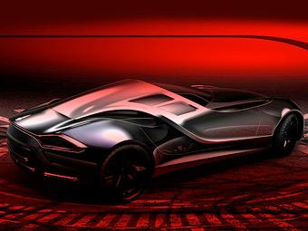 Итальянцы показали дизайн нового суперкара