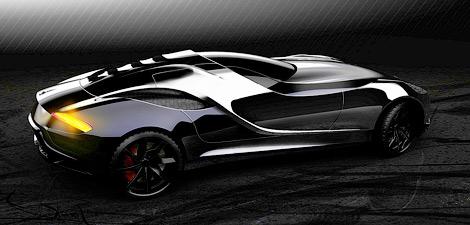 Дизайн-ателье UP Design опубликовало изображения концептуального спортивного автомобиля Vittoria