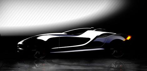 Дизайн-ателье UP Design опубликовало изображения концептуального спортивного автомобиля Vittoria. Фото 1