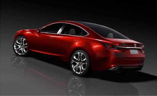 Новую Mazda6 превратят в купе