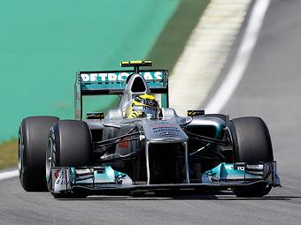 Команда Формулы-1 Mercedes GP сменила название