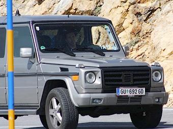 Mercedes-Benz начал тесты обновленного G-Class