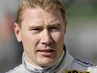 Мика Хаккинен протестирует новый Mercedes-Benz для чемпионата DTM