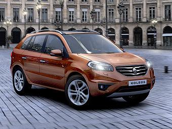 В России начались продажи обновленного Renault Koleos