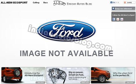 В интернете появились изображения нового кроссовера Ford EcoSport