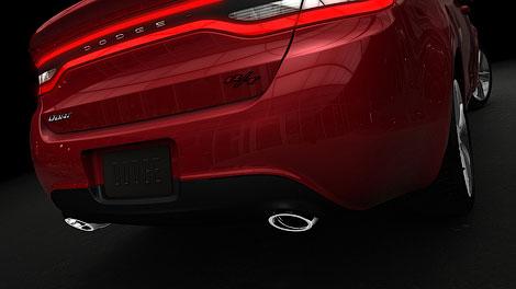 """Новая модель """"Доджа"""" получит имя Dart и появится в 2012 году"""