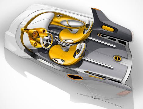 На моторшоу в Детройте Smart представит электрический концепт-кар For-us. Фото 1
