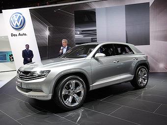 VW выпустит очень маленький кроссовер