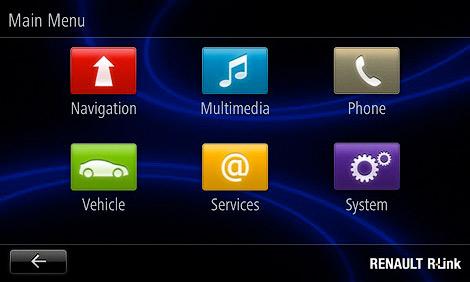 Французская компания представила мультимедийную систему R-Link