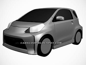 Toyota готовит спортивный вариант компакт-кара iQ
