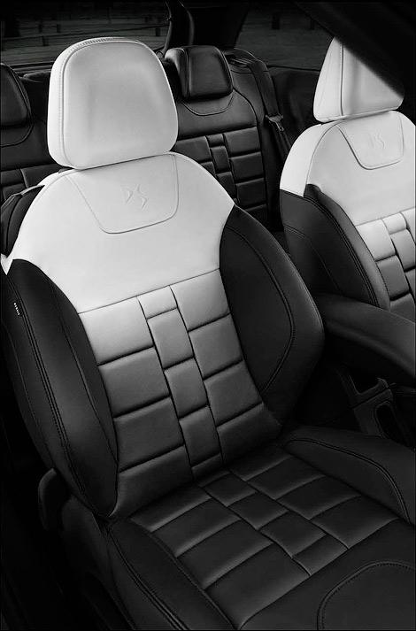 Спецверсия Citroen DS3 получила особое оформление кузова и салона. Фото 3