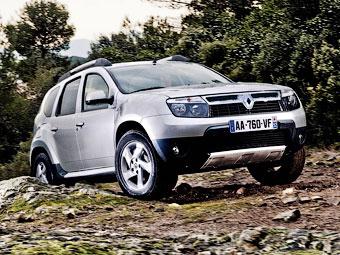 Стали известны рублевые цены на Renault Duster