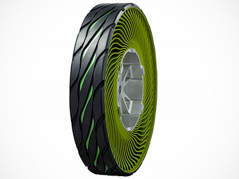 Bridgestone разработал безвоздушную шину