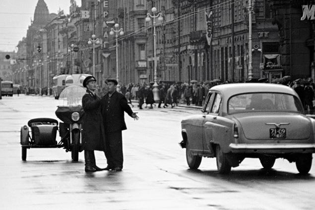 В 1931 году создается отдел регулирования уличного движения (ОРУД). Фото 1