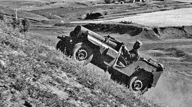 """Одновременно со знаменитым """"Виллисом"""" появляются советские джипы. Фото 1"""