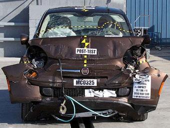 Fiat 500 провалил американский краш-тест