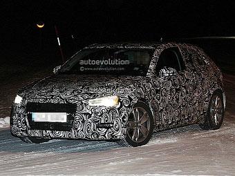 Новый Audi A3 приступил к зимним тестам