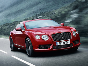 Семейство Bentley Continental получило твин-турбо мотор V8