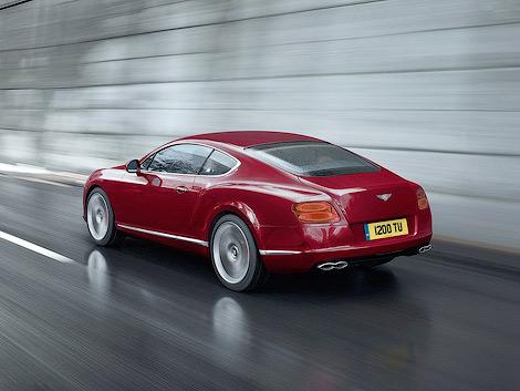 Британский производитель рассекретил новую версию Continental GT и GTC