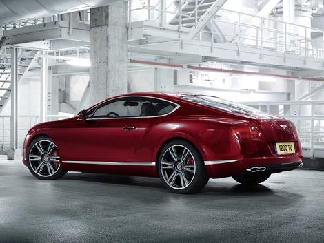 Британский производитель рассекретил новую версию Continental GT и GTC. Фото 2