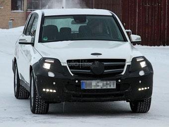 Mercedes-Benz GLK готовится к обновлению