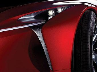 Lexus покажет в январе дизайн будущих моделей