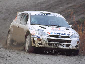 Петтер Сольберг протестирует Ford Fiesta WRC