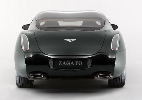 Купе Bentley Continental GT с кузовом от ателье Zagato выставили на аукцион eBay. Фото 2