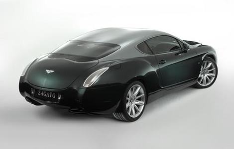 Купе Bentley Continental GT с кузовом от ателье Zagato выставили на аукцион eBay. Фото 3