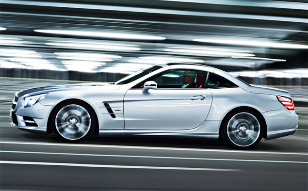 Новый Mercedes-Benz SL стал на 90 процентов алюминиевым
