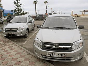 Продажи седанов Lada Granta стартуют 22 декабря