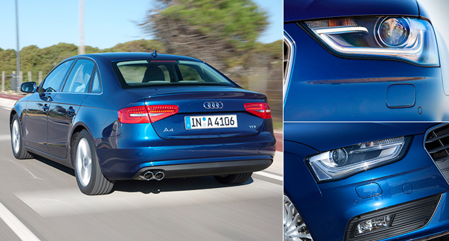 Ищем изменения в самой массовой модели Audi