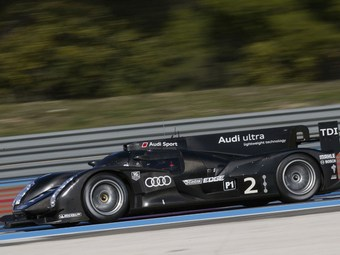 """Audi провела первые публичные тесты нового прототипа для """"Ле-Мана"""""""